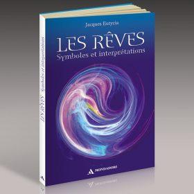 Livre sur les rêves fermé vu de trois quart, couverture et tranche