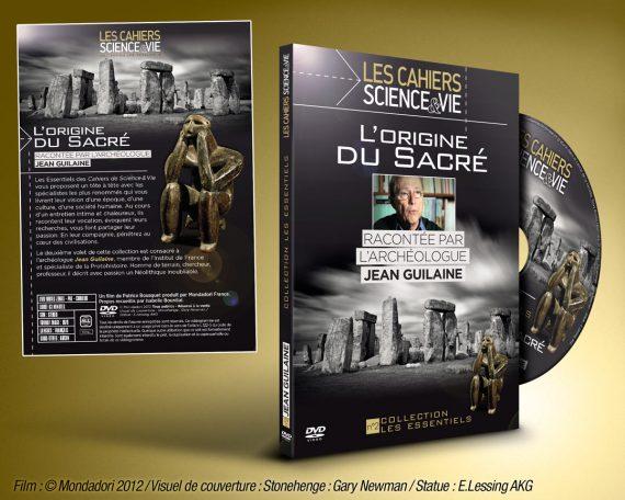 Couverture - face, dos et rondelle d'un DVD sur les civilisations et l'archéologie