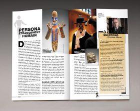 Cahier en édition spéciale du magazine Science & Vie ouvert sur une double page